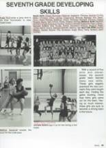 1987 Clyde High School Yearbook Page 100 & 101