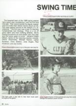 1987 Clyde High School Yearbook Page 102 & 103