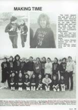 1987 Clyde High School Yearbook Page 104 & 105