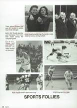1987 Clyde High School Yearbook Page 106 & 107