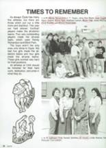 1987 Clyde High School Yearbook Page 108 & 109