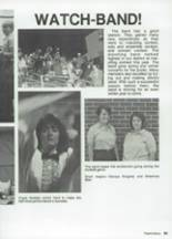 1987 Clyde High School Yearbook Page 110 & 111