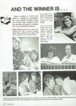 1987 Clyde High School Yearbook Page 130 & 131