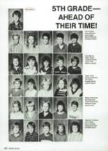 1987 Clyde High School Yearbook Page 144 & 145