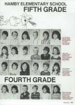 1987 Clyde High School Yearbook Page 166 & 167