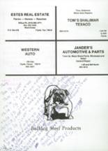 1987 Clyde High School Yearbook Page 184 & 185