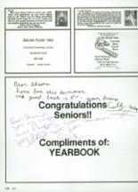 1987 Clyde High School Yearbook Page 188 & 189