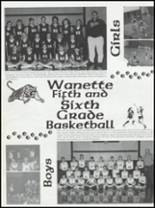 1999 Wanette High School Yearbook Page 20 & 21