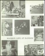 1970 Madison Central School Yearbook Page 52 & 53