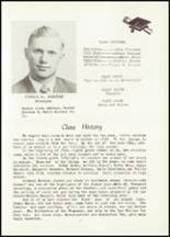 1951 Hancock High School Yearbook Page 12 & 13