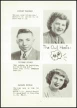 1951 Hancock High School Yearbook Page 16 & 17