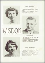 1951 Hancock High School Yearbook Page 18 & 19
