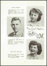 1951 Hancock High School Yearbook Page 20 & 21