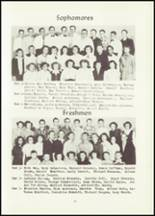 1951 Hancock High School Yearbook Page 28 & 29