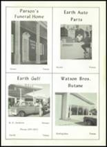 1965 Springlake-Earth High School Yearbook Page 118 & 119