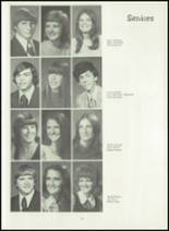 1974 Shelby High School Yearbook Page 54 & 55