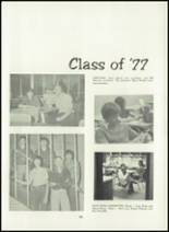 1974 Shelby High School Yearbook Page 92 & 93