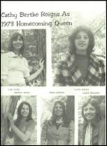 1974 Shelby High School Yearbook Page 116 & 117
