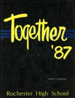 1987 Yearbook Rochester High School