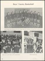 1971 Clyde High School Yearbook Page 42 & 43