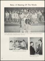 1971 Clyde High School Yearbook Page 54 & 55