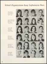 1971 Clyde High School Yearbook Page 88 & 89