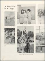 1971 Clyde High School Yearbook Page 98 & 99
