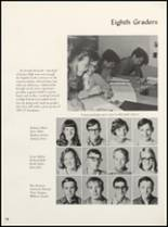 1971 Clyde High School Yearbook Page 102 & 103