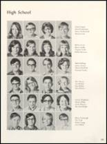 1971 Clyde High School Yearbook Page 104 & 105