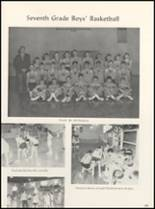 1971 Clyde High School Yearbook Page 112 & 113