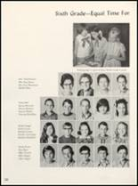 1971 Clyde High School Yearbook Page 124 & 125