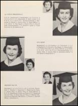 1958 Clyde High School Yearbook Page 16 & 17