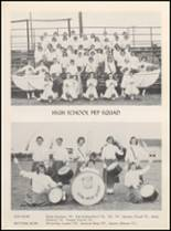 1958 Clyde High School Yearbook Page 54 & 55