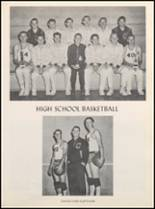 1958 Clyde High School Yearbook Page 56 & 57