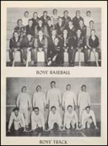 1958 Clyde High School Yearbook Page 64 & 65