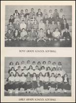 1958 Clyde High School Yearbook Page 100 & 101