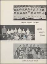 1958 Clyde High School Yearbook Page 102 & 103