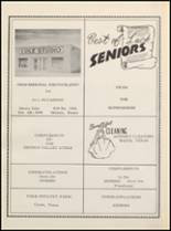 1958 Clyde High School Yearbook Page 116 & 117