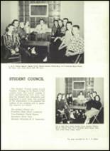 1957 Gillespie Community High School Yearbook Page 22 & 23