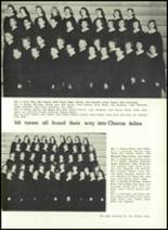 1957 Gillespie Community High School Yearbook Page 24 & 25