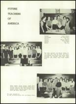 1957 Gillespie Community High School Yearbook Page 30 & 31
