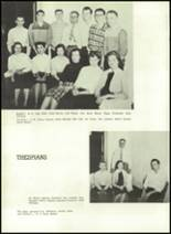 1957 Gillespie Community High School Yearbook Page 34 & 35