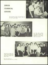 1957 Gillespie Community High School Yearbook Page 36 & 37