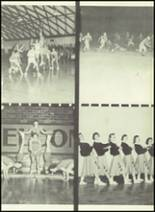 1957 Gillespie Community High School Yearbook Page 40 & 41