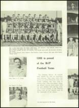 1957 Gillespie Community High School Yearbook Page 42 & 43