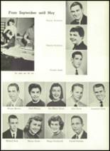 1957 Gillespie Community High School Yearbook Page 54 & 55
