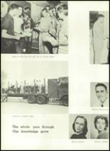 1957 Gillespie Community High School Yearbook Page 56 & 57