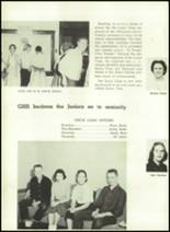 1957 Gillespie Community High School Yearbook Page 62 & 63