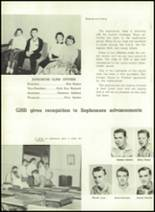 1957 Gillespie Community High School Yearbook Page 66 & 67