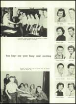 1957 Gillespie Community High School Yearbook Page 68 & 69